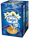 International Delight French Vanilla Liquid Creamer, 192-Count Single-Serve Packages
