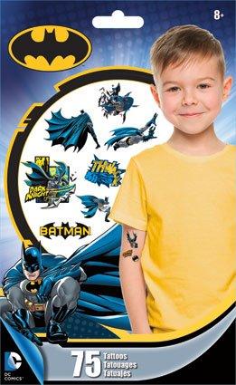 Batman Temporary Tattoos - 75 Ct.