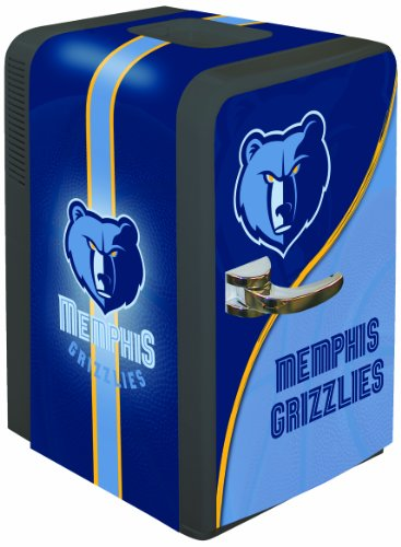 NBA Memphis Grizzlies Portable Party Fridge, 15 Quarts (Nba Mini Fridge compare prices)