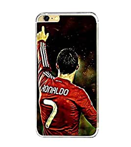 Printvisa Footballer In Aggression Back Case Cover for Apple iPhone 6::Apple iPhone 6S