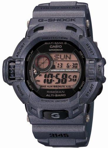 CASIO (カシオ) 腕時計 G-SHOCK RISEMAN Men in Rusty Black タフソーラー 電波時計 MULTIBAND6 GW-9200MSJ-8JF