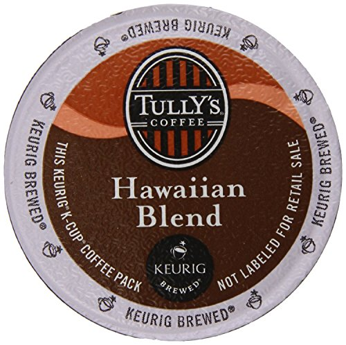 Tully's Hawaiian Blend Extra Bold Coffee Keurig K-Cups, 24 Count (Keurig Hawaiian compare prices)