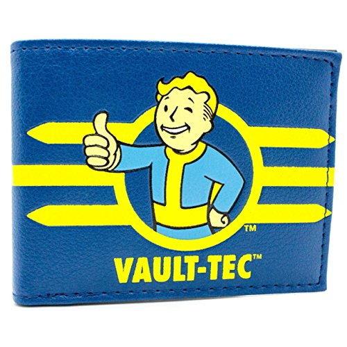 Bethesda Fallout 4 Partecipa Vault Tec Blu portafoglio