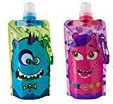 Design Your Own Quencher Vapur Anti-Bottle For Kids, Set of 2, Lolli and Bo. 0.4L. Made in USA.