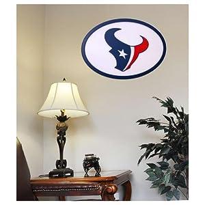Houston Texans 31 inch Logo Wall Art by Fan Creations