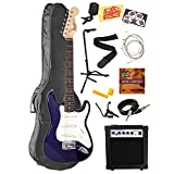 Kids Electric Guitar Package - Blue