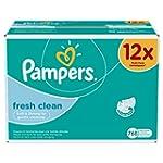 Pampers 12 Paquets de 64 Lingettes Fr...