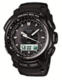 Casio Pathfinder Resin Black Dial Mens Watch - PRW-5100-1JF