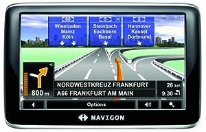 Navigon 4310Max Satellite Navigation System - Europe Traffic Widescreen