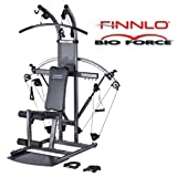 FINNLO BIO-FORCE Multi Gym, Revolutionary Design, German Engineered, 3Yr Warranty