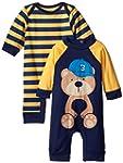 Gerber Baby-Boys Newborn Navy Bear 2...