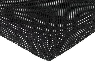 Madison Fitted Crib Sheet for Baby/Toddler Bedding-Polka Dots