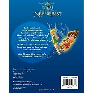 Disney Tinkerbell und die Legende vom Nimmerbiest: Das Buch zum Film mit magischem 3D-Cover