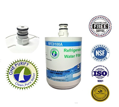 Onepurify Water Filter To Replace Lg, Kenmore, Sears, Lt500P, 5231Ja2002, 5231La2002A, 5231Ja2002A-S, 5231Ja2002B, 5231Ja2002B-S, 9890, Adq72910901, Adq72910902, Gen11042F-08, Gen11042Fr-08, Ps2487038, Sgf-La22, Eef-6005A, Wf-290, Wf290, Wsl-1. front-217657