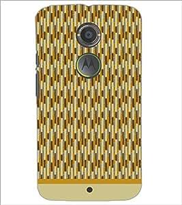 PrintDhaba Pattern D-1571 Back Case Cover for MOTOROLA MOTO X2 (Multi-Coloured)