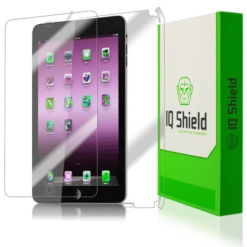 Iq Shield Liquidskin - Apple Ipad Mini Screen Protector + Full Body (Front And Back) With Lifetime Replacement Warranty - High Definition (Hd) Ultra Clear Tablet Smart Film - Premium Protective Screen Guard - Extremely Smooth / Self-Healing / Bubble-Free front-733500