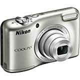 Nikon COOLPIX L31 16.1MP Compact Digital Camera (5x Optical Zoom, 720P Video, 2.7-inch Lens, Silver) (Certified Refurbished)