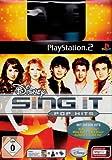 echange, troc Disney Sing It - Pop Hits Bundle (inkl. 2 SingStar Mikros) [import allemand]
