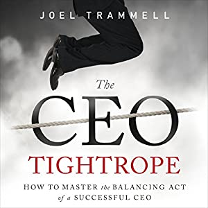 The CEO Tightrope Audiobook