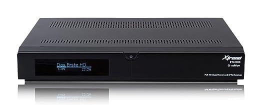 Xtrend ET 10000 Récepteur HD (1x DVB-S2 et DVB-C 1 x Linux, Full HD, HbbTV, PVR Ready) noir