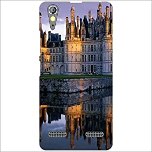 Lenovo A6000 Plus Back Cover Designer Hard Case Printed Cover