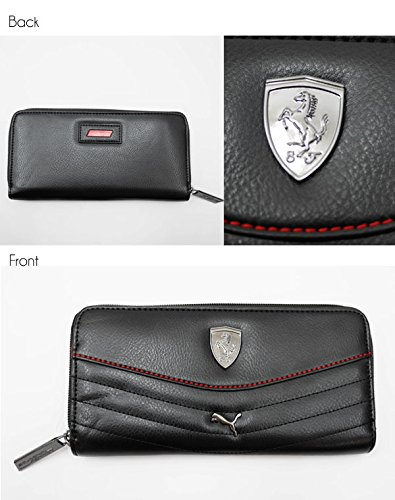 FERRARI LS WOMEN'S WALLET BLACK