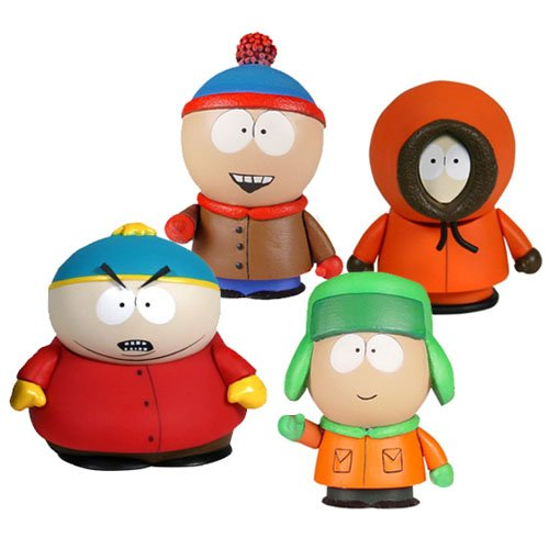 Picture of Mezco South Park: Boys Box Set Figure (B0050021IE) (Mezco Action Figures)