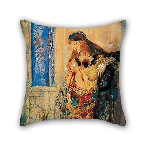 [Uloveme 20 X 20 Inches / 50 By 50 Cm Oil Painting Gustave Moreau - The Toilette Pillowcase,two Sides Is Fit For Coffee] (Dog Pooh Bear Costume)