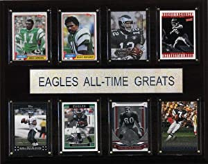 NFL Philadelphia Eagles All-Time Greats Plaque by C&I Collectables