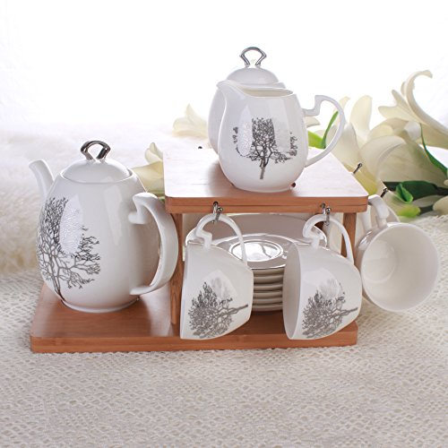 european-simple-snow-tree-ceramic-coffee-cup-and-saucer-tea-gift-set-ceramic-cup-bamboo-rack-suits-d