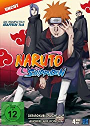 Naruto Shippuden - Staffel 7 & 8, Episoden 364-395 (uncut) [4 DVDs]