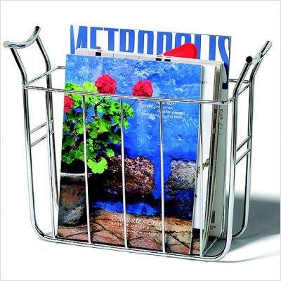 Spectrum 59770 Euro Magazine Basket, Chrome