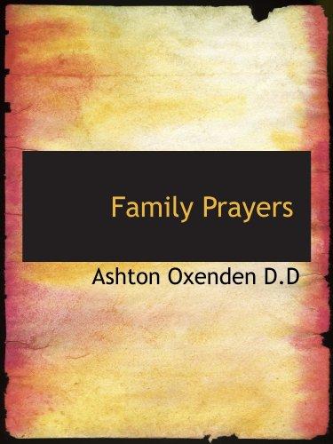 Family Prayers
