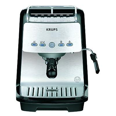 Krups XP4050 1200-Watt 15-Bar-Pump Programmable Espresso Machine