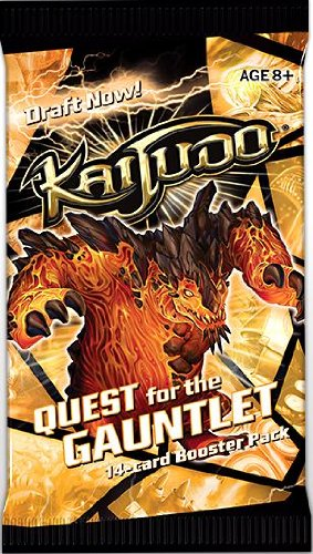 Kaijudo Quest for the Gauntlet Booster PACK - 1