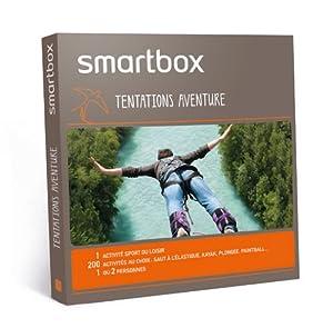 SMARTBOX - Coffret Cadeau - Tentations aventure