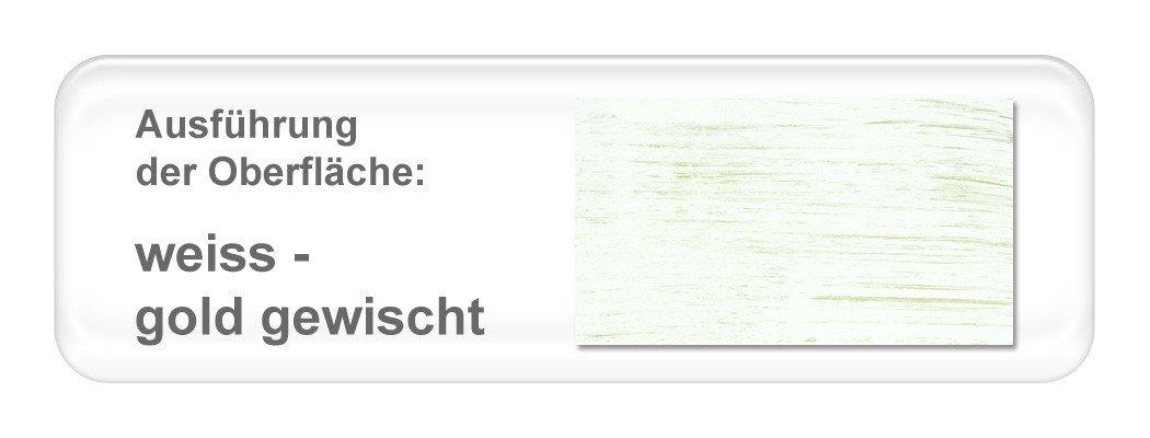 hochwertiges Himmelbett Metallbett Cady, verschiedene Varianten, Jugendbett Doppelbett Singelbett Ehebett, Liegefläche:180 x 200 cm;Farben:weiß - gold gewischt