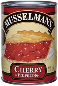 Musselman's Cherry Pie Filling, 21 -Ounce Cans (Pack of 6)