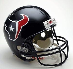 Houston Texans Riddell Full Size Deluxe Replica Football Helmet - Sports Memorabilia by Sports Memorabilia