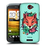 Head Case Designs Fox Flora and Fauna Hard Back Case Cover for HTC One S