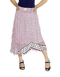 Sringar Women's Skirt (As2002_Pink_30)
