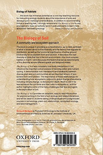 The Biology of Soil: A community and ecosystem approach (Biology of Habitats)