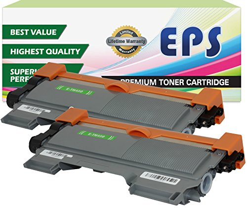 2 Pack EPS Replacement Brother TN450 Black Toner Cartridges (Eps Replacement Toner Cartridge compare prices)