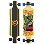 "SANTA CRUZ LONGBOARD Cobra DROP DOWN Skateboard CRUZER 10"" X 40"""