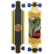"SANTA CRUZ LONGBOARD Cobra DROP DOWN Skateboard CRUZER 10"" X 40"""
