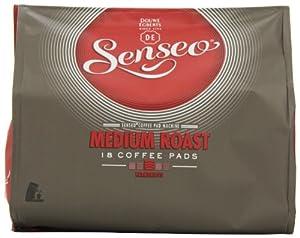 Douwe Egberts Senseo Medium Roast Coffee 18 Pads (Pack of 5, Total 90 Pads)
