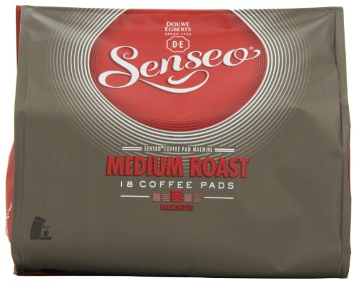 Douwe Egberts Senseo Medium Roast Coffee 18 Pads (Pack of 5, Total 90 Pads)