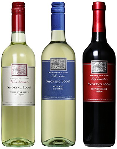 Smoking Loon Red White And Blue Wine Mixed Pack, 3 X 750 Ml