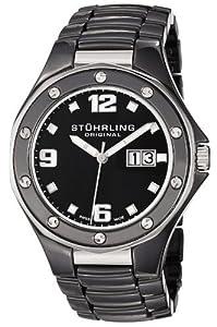 Stuhrling Original 154.33OB10 - Orologio da polso, ceramica, colore: nero