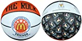Anaconda Sports® The Rock® 2011 McDonald's All American High School Game Logo 5 Inch Mini Rubber Basketball